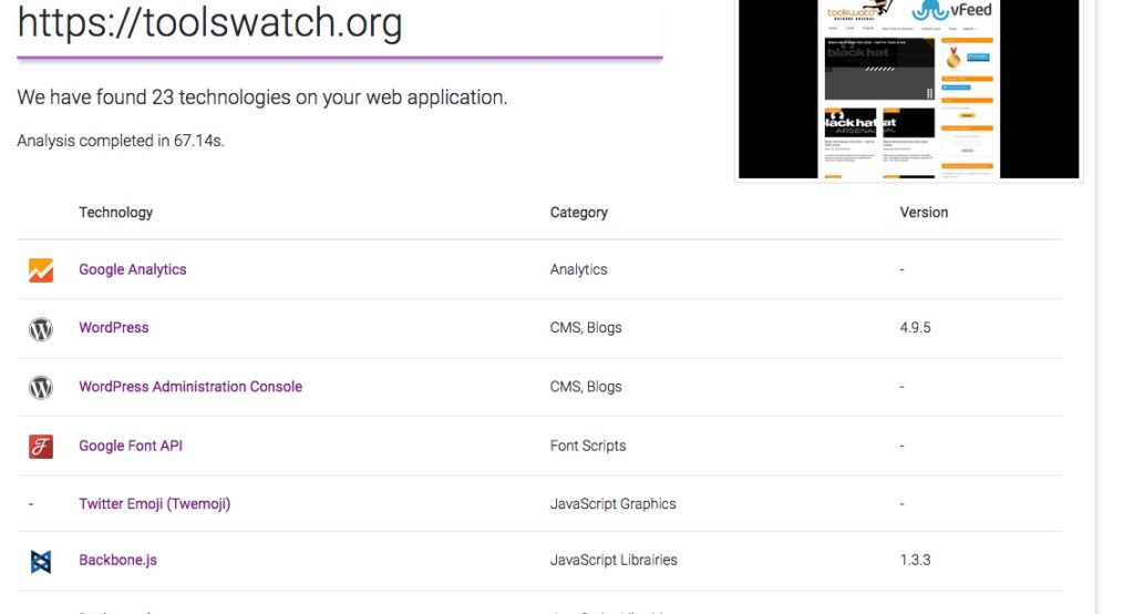 - purpl 1024x554 - ToolsWatch.org – The Hackers Arsenal Tools Portal » Purplemet Online Tool To Detect WebApp Technologies