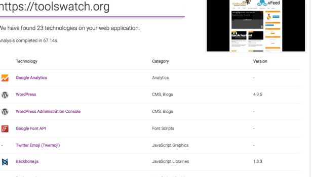 - purpl 620x350 - ToolsWatch.org – The Hackers Arsenal Tools Portal » Purplemet Online Tool To Detect WebApp Technologies